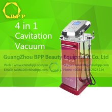 Excellent 4 in 1 RF Vacuum&RF&Cavitation Weight Loss/Body Slimming Salon Equipment&Machine
