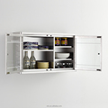 Wall type stainless steel kitchen corner storage cabinet 7034
