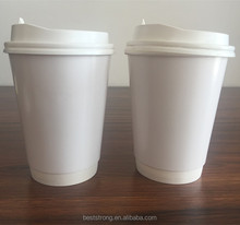 Disposable cup , High Quality 250cc 400cc 480cc Party jelly cup , Plastic Paper Cup with lid
