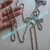 4.5mm Stainless steel Metal Roller Blind Pull Chain Ball Chain