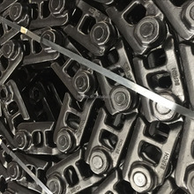 EX100-1 track chain for undercarriage parts / track link assembly