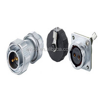 zinc alloy shell IP65/67 2pin waterproof connector