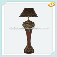 three times painting high end floor lamp antique with clock decor