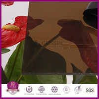 High quality warranty plastic building material solid polycarbonate sheets 1220*2440mm