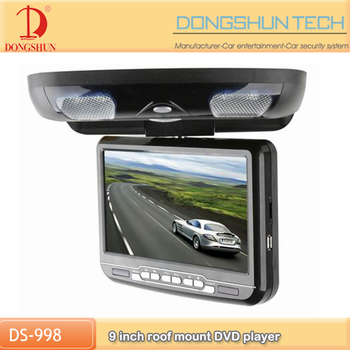 wholesale 9 inch car roof mount tft lcd DVD monitor and USB SD