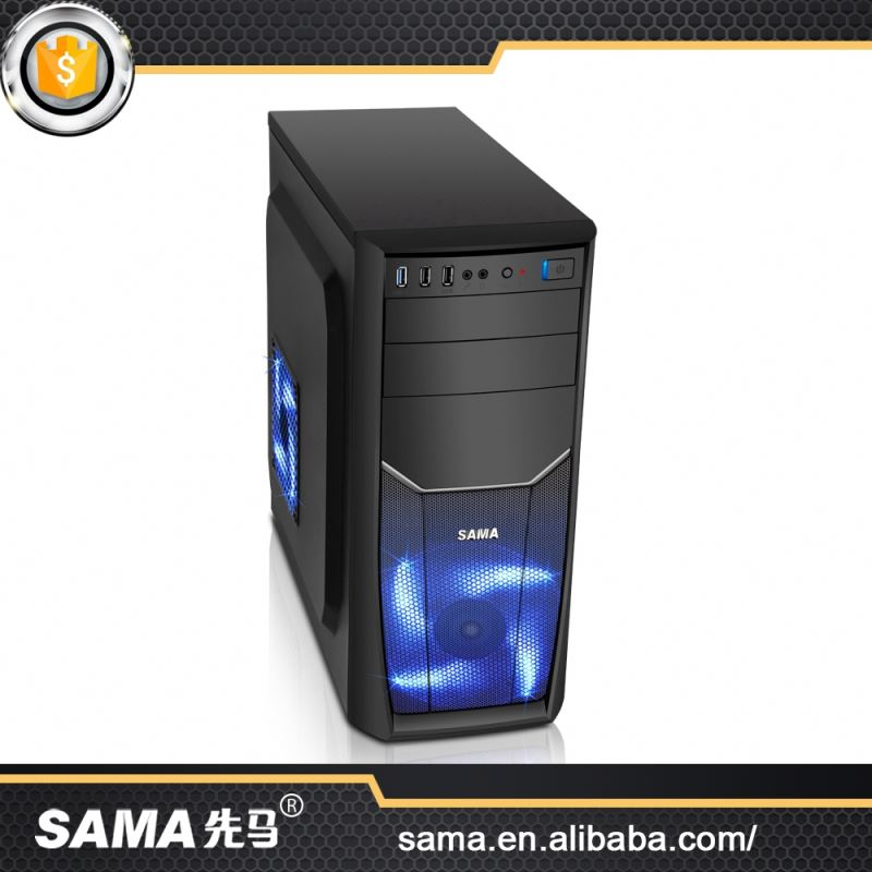 SAMA Latest Crazy Low Price Computer Case Specification Mid Tower