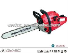 Gasoline Garden Tools 45CC Gas Powered AntiVibration Chain Saw