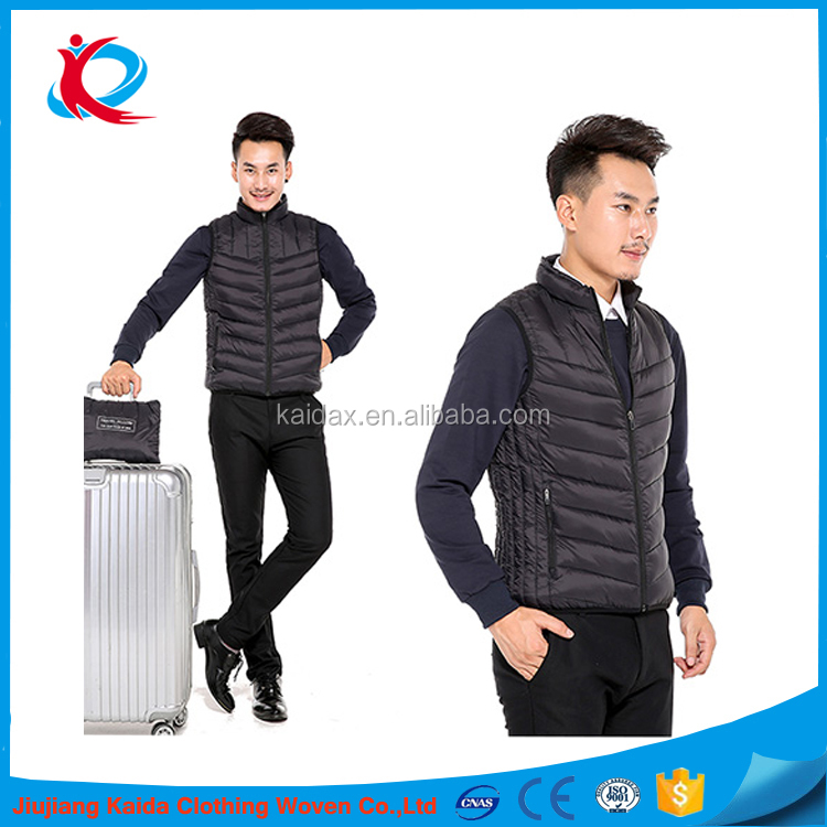 high quality heat pad vest is outdoor working vest and travel waistcoat vest