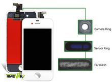 Timeway latest price colored glass back cover for iphone 4