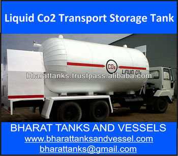 """Liquid Co2 Transport Storage Tank"""