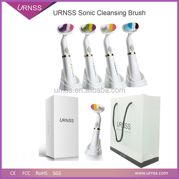 URNSS Fashion Rainbow Series Facial Cleansing Brush, Beauty Electric Facial Cleansing Brush, Sonic Facial Cleansing Brush