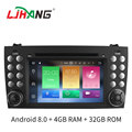 android 8.0 car radio gps navigation For MERCEDES-BEN Z SLK200/SLK280/SLK350/SLK55 2004-2012 WIFI mirror link DVD Stereo Player