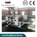 small two color printer slotter carton package machine