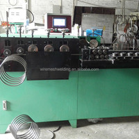 Automatic Spiral Continuous Wire Ring Making