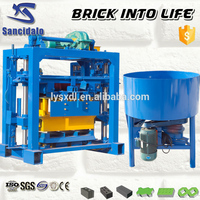 High efficiency and easy maintenance manual brick machine mini brick plant