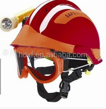 2016 new product wholesale price fire helmet fire escape equipment for fireman