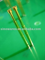 Brass pogo pin probe