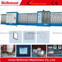 Automatic Vertical Double Glazing Washing and Pressing Machine