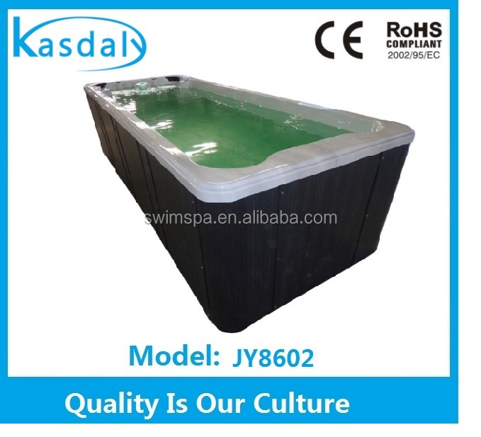 NEW DESIGN 4 people freestanding acrylic large whirlpool outdoor swimming pool massage used swim spa