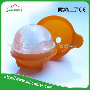Professional production silicone ice round ice ball molds