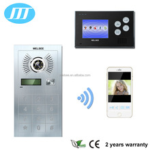 WIFI doorbell outdoor station villa video door phone smart phone APP support