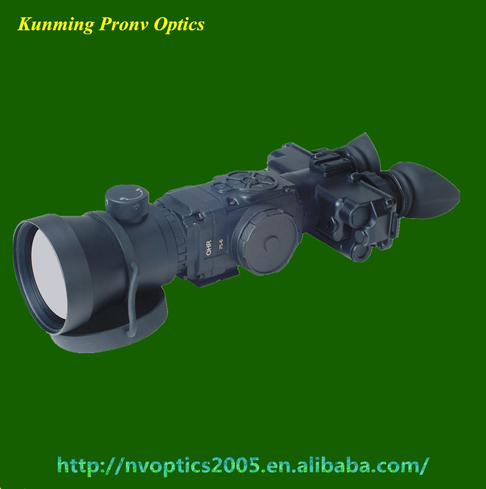 Thermal Binocular with 640*480 sensor for military and defence