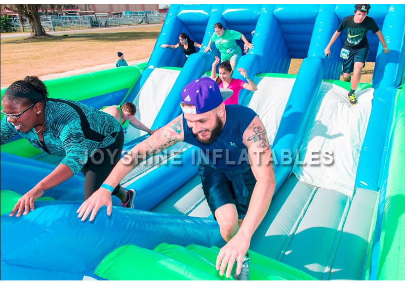 Joyshine Wholesale Outdoor Challenge Sports Have Fun 5K Obstacle Course Equipment Inflatable Adult Obstacle