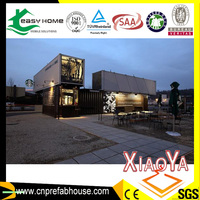 prefab house unit movable villa modified shipping container house