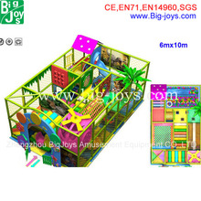 BJ-GXIP16117 LLDPE material size 6mx10m indoor playground/naughty castle for sale