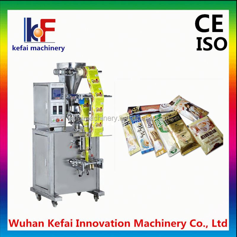 Vertical tea bag packaging machine with volumetric cups and chain-type batchers model