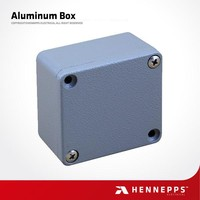 IP67 Trade Assurance China Supplier Electrical Aluminum Enclosure Box Waterproof Outdoor Enclosure