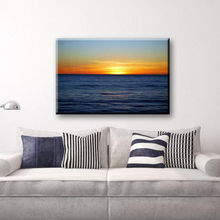Seaside scenery decorative wall art painting on canvas designs for living room