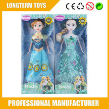 2015 Nest Fashion frozen dolls elsa, vinly frozen doll
