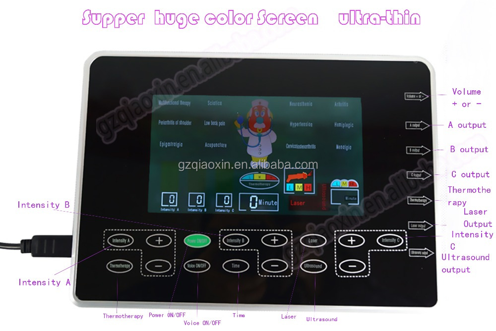 Other Type and Touch Screen Feature for multifunctional physical therapy equipment used