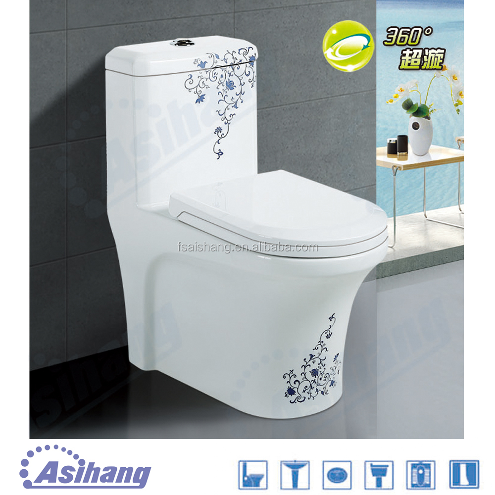 China Factory Ceramic Washdown Toilet Commode Price Western
