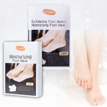 OEM private label peeling Moisturizing exfoliating foot peel mask