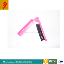 China manufacturer small hair comb brush for hotel