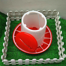Plastic manual chicken feeder used for poultry equipment
