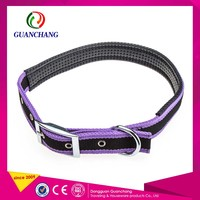 Screen Printing Nylon Dog Pet Collar Diy And Lead Metal Buckle