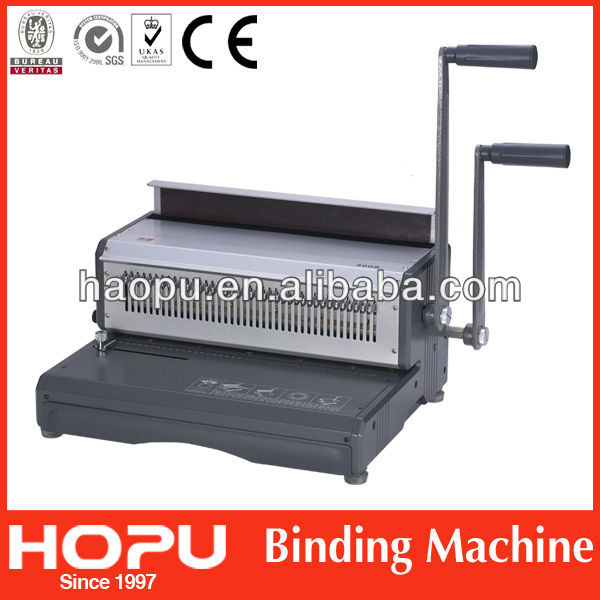 HP office and school equipment A3 wire binding machine