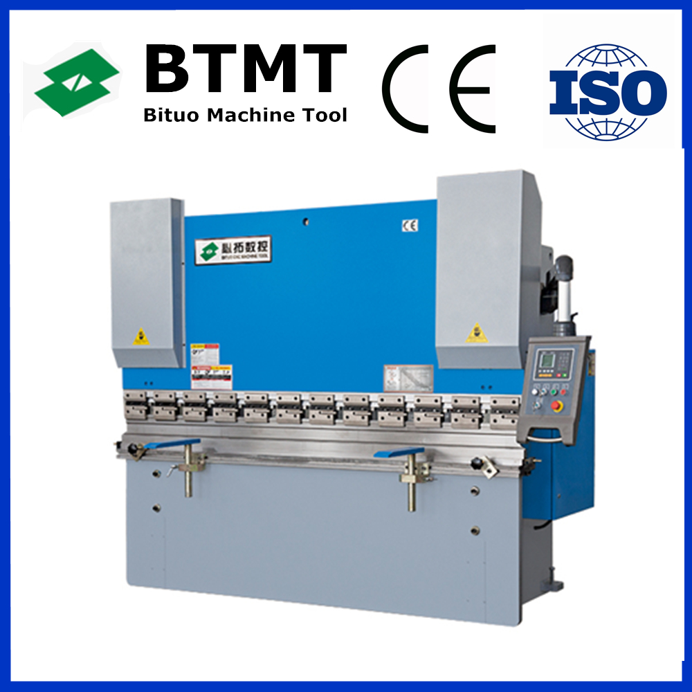Factory production wc67k large plate bender hydraulic press brake with E21