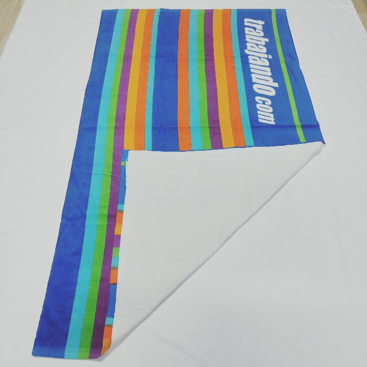 Made in China cheap bulk pure cotton material beach towels clearance