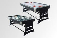 Foldable Pool table and Air Hockey Table 2-1 game products