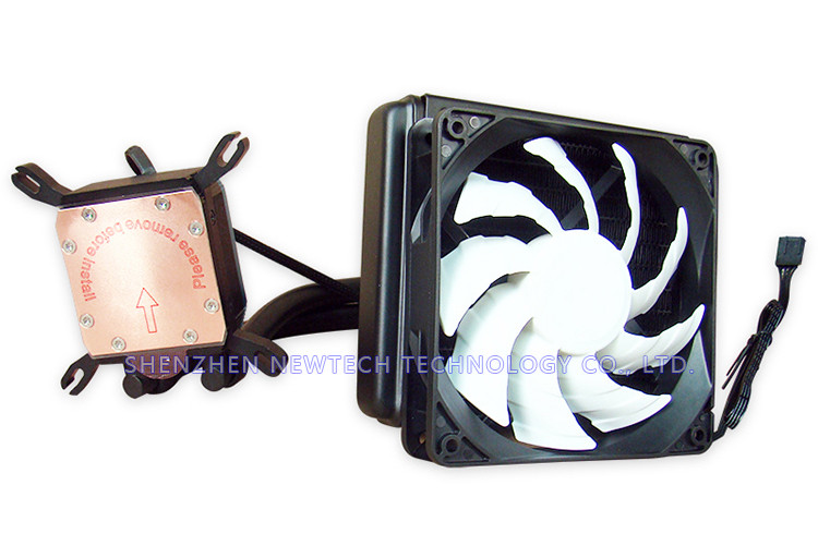 High perofrmance 120mm radiator computer cpu water cooling/liquid cooler with fan