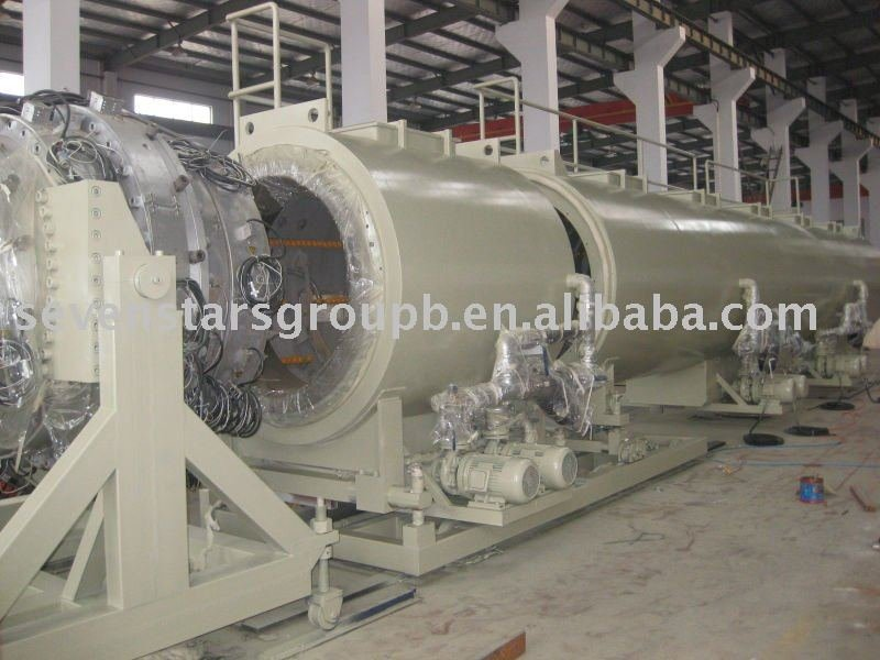 plastic pipe production machine