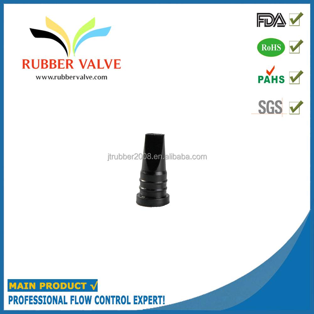 black fkm rubber one way valve china supplier