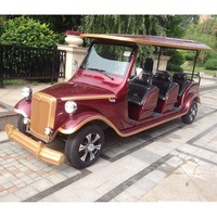 8 seats Electric battery operated classic cars