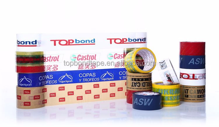 Water Proof Feature Bopp Company Logo Printed Adhesive Packing Tape