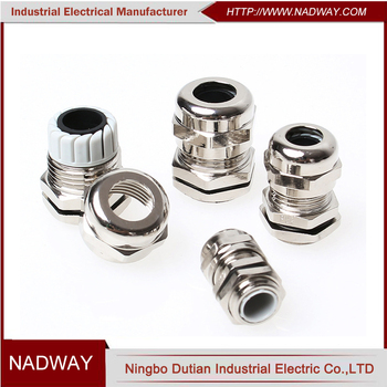 IP68 waterproof PG21 M27*1.5 stainless steel cable gland