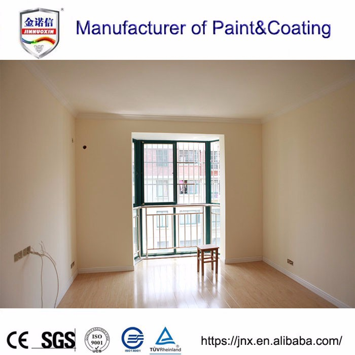 Water based modern interior paint and coatings